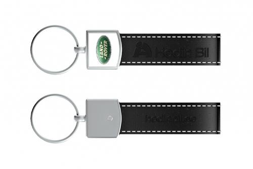 Navnskilt, ovalt med magnet og domedekal