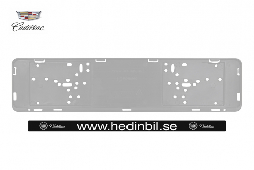 Infostativ i klar akryl til gulv