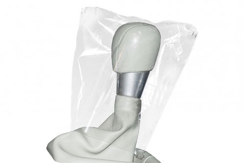 Vannflaske Hit soft Bio, hvit med sort lokk og 1 farge trykk