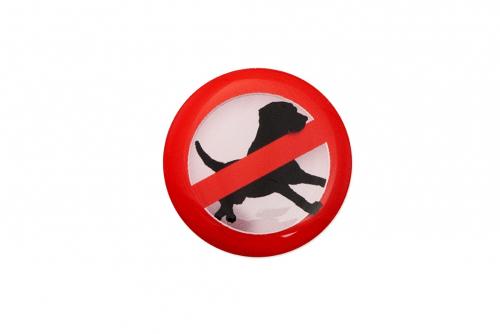 Domedekal, Dyr forbudt
