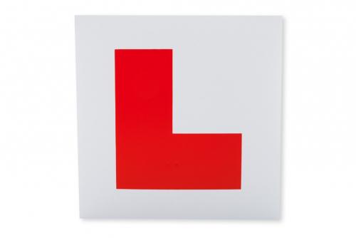 L-merke Øvelseskjørningsskilt, Magnet